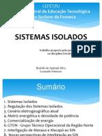 Apresentação - Sistemas Isolados (Versão 4)