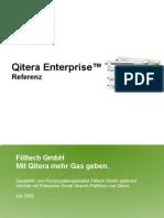 Qitera Enterprise Referenz Filltech Juli 2009