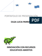 PORTAFOLIO DE PRESENTACION_OLGA LUCIA PARRA_4 SEMANA.pptx