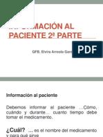Información al paciente  2014-1