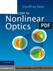 Introduction to Nonlinear Optics