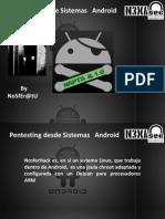 Pentest Android / Rafael Gómez del Ángel