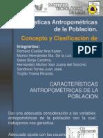Características Antropométricas de la Población