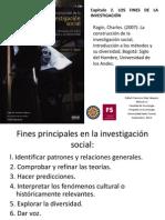 Capítulo 2. LOS FINES DE LA INVESTIGACIÓN