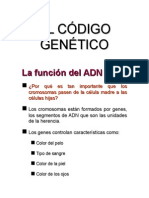 Codigo Genéticoppt