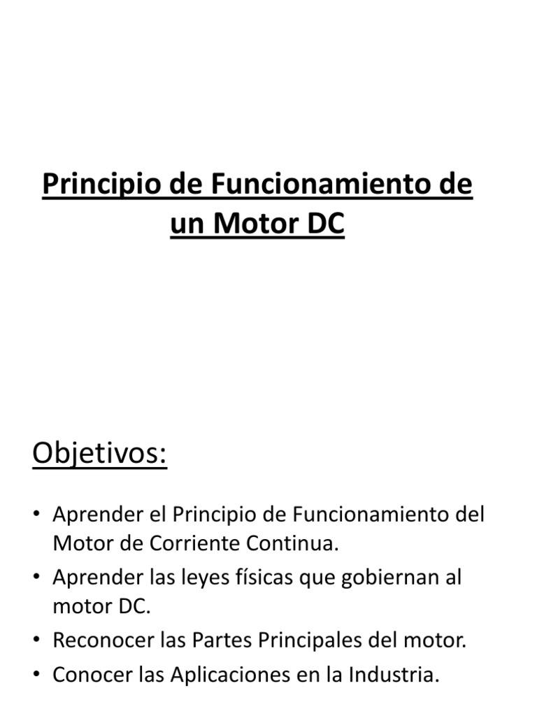 d1e45c2b6cd Principio de Funcionamiento de Un Motor DC