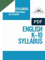 English Syllabus National Curiculum