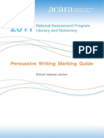 WritingMarkingGuide - NAPLAN