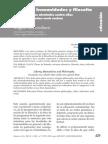 Libertad, humanidades y filosofía, G-Baró