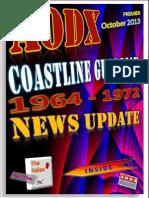 AODX Coastline Guardian 1964 - 1972 News Update PREMIER October 2013