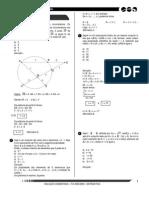 ITA 2005 2006 Matematica