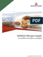 Entreposage Emballage Pour Atmosphere Controlee Brochure Generateur Azote Parker Maxigas