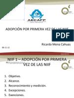 Niif 1 - Ricardo Mena