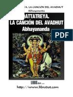 Dattatreya. La Canción del Avadhut
