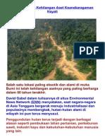Asia Tenggara Kehilangan Aset Keanekaragaman Hayati