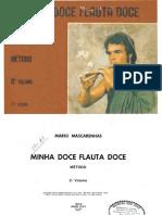 [livro] mário mascarenhas - minha doce flauta doce-vol. 2