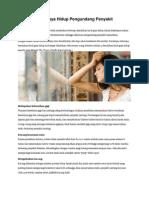 12 Kesalahan Gaya Hidup Pengundang Penyakit Mematikan