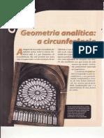 CAP.2-GEOMETRIA ANALÍTICA-A CIRCUNFERÊNCIA