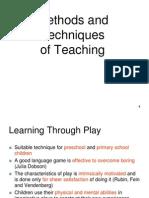 Method & Techniques of Teaching