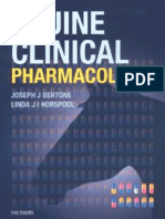 Equine Clinical Pharmacology