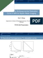 Physics 540 Presentation