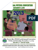 2013 Convention Flyer