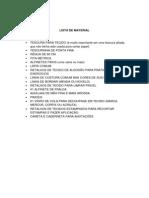 Lista de Material Livia Limp