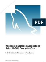 Mysql Apps Using Connector and Cpp