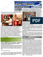 UPH DJGTMU 2013 Newsletter