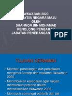 Wawasan 2020 Malaysia Negara Maju