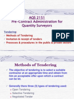 21034437 AQS 2151 Pre Contract Administration for Quantity Surveyors Copy