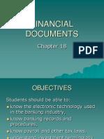 financial document- Admin management