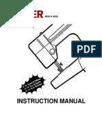 Manual Pret a Porter Modelo 4814_4830_4832_84350
