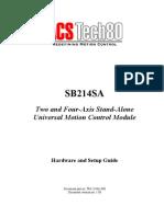 SB214SA Hardware and Setup Guide 1.08