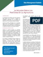 Agriculture Current Topics in Pesticidesrm141 Spanish