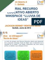 Tutorial Rea Wikispace _jackson Renteria Mena
