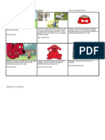 Storyboard for Book Trailer