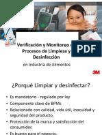 Limpieza, Desinfeccion y Verificacion en La Industria de Los Alimentos Procesados Alejandro Rojas 2808013