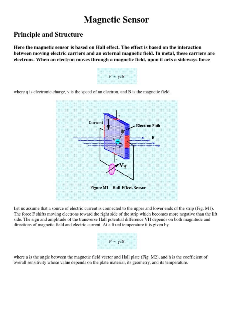 Magnetic Sensor Field Bipolar Junction Transistor Hall Effect Diagram