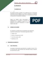 DESCRIPCIÓN DEL PROYECTO-CONCRETO VERANO