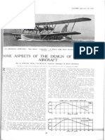 Some Aspects of the Design of Seagoing Aircraft Part 1