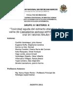 22 08 PROYECTO Toxicidad Aguda Del Extracto de Caesalpinia Spinosa