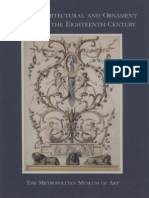 French Architectural and Ornament Drawings of the Eighteenth Century