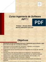 Curso Ingeniería de Software parte I