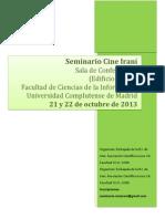 Seminario Cine Irani Octubre 2013 UCM