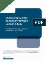 Improving Subject Pedagogy Through Lesson Study-1