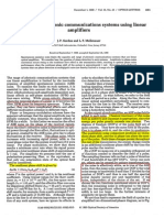 1990_OL Phase Noise in Photonic Communications Systems Using Linear Amplifiers