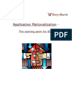 Application Rationalization | Torry Harris Whitepaper