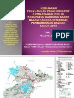 Ekspose Kebijakan Pik Bandung Barat