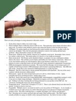 Automotive Ultrasonic Sensors